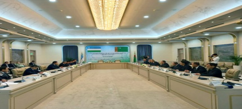 THE NEXT MEETING OF JOINT TURKMEN-UZBEK INTERGOVERNMENTAL COMMISSION HELD IN TASHKENT