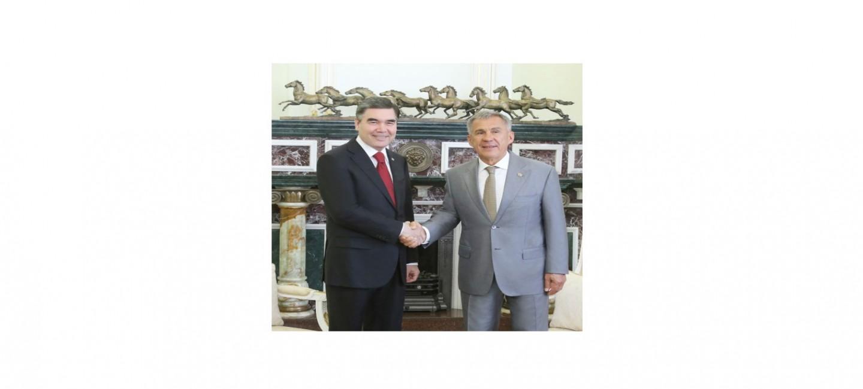 PRESIDENT OF TURKMENISTAN VISITED THE REPUBLIC OF TATARSTAN
