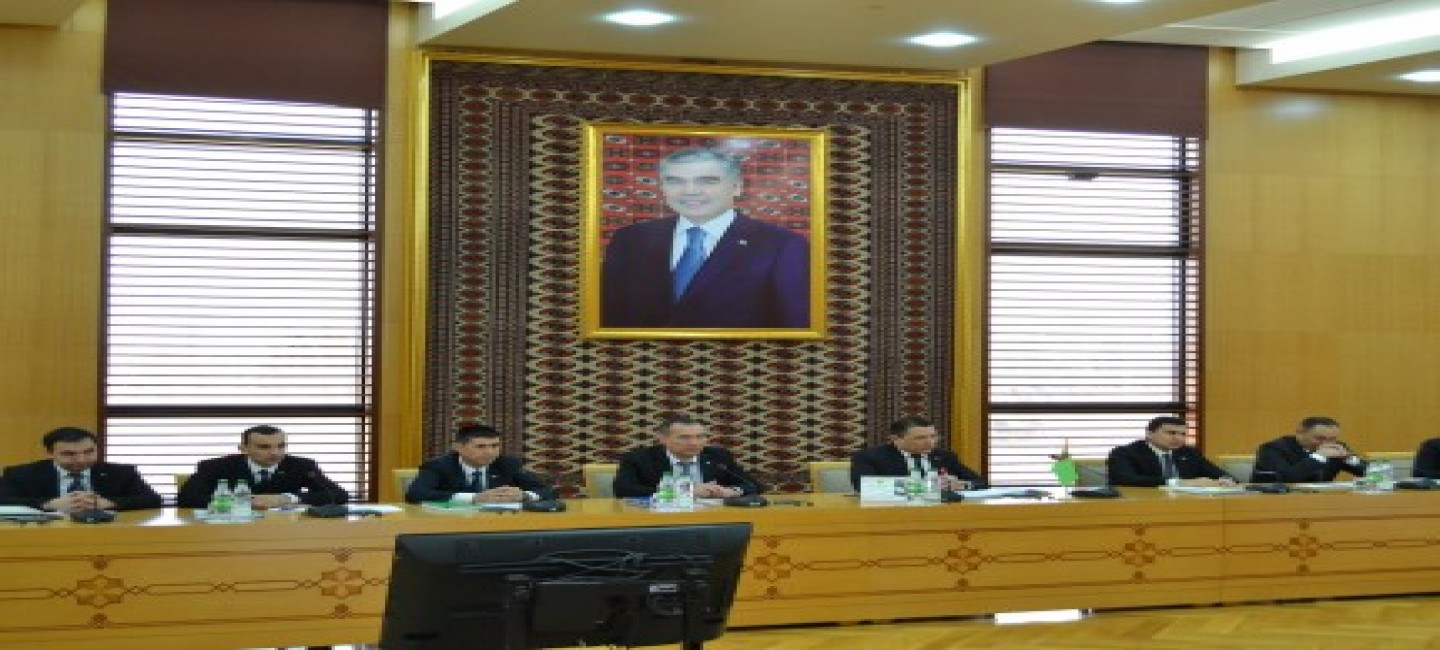 THE MEETING OF AUTHORIZED REPRESENTATIVES OF THE CASPIAN LITTORAL STATES BEGAN ITS WORK