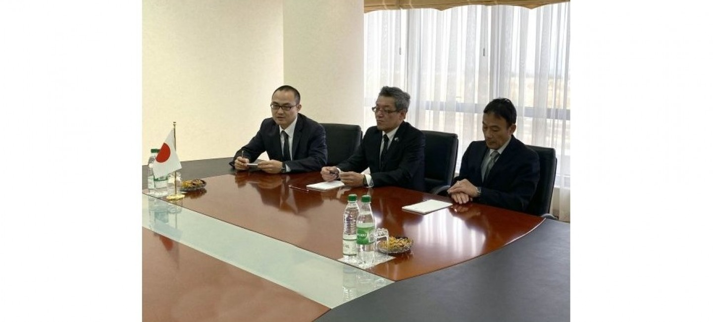 A MEETING WITH A REPRESENTATIVE OF THE JAPANESE COMPANY KAWASAKI WAS HELD AT THE MINISTRY OF FOREIGN AFFAIRS OF TURKMENISTAN