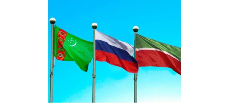 VISIT OF THE PRESIDENT OF TURKMENISTAN TO THE REPUBLIC OF TATARSTAN, RF BEGAN