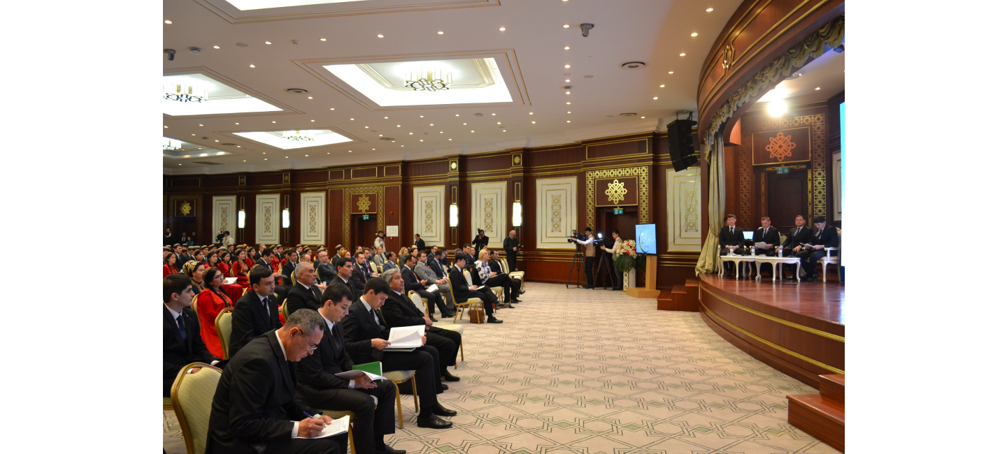 """THE MEDIA FORUM """"THE ROLE OF SPORTS FOR SUSTAINABLE DEVELOPMENT"""" HELD IN ASHGABAT"""