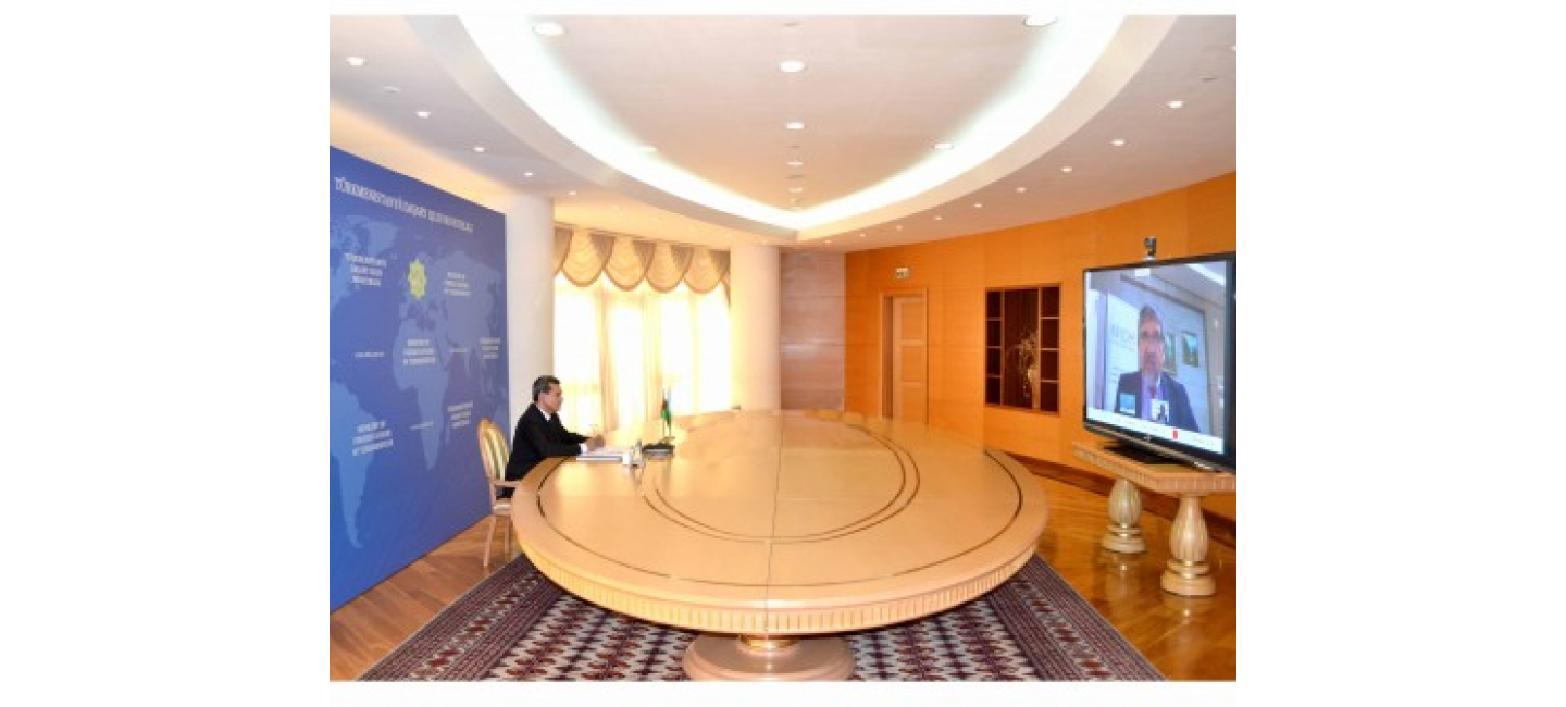 TURKMENISTAN INTENDS TO DEVELOP COOPERATION WITH THE INTERNATIONAL ORGANIZATION FOR MIGRATION
